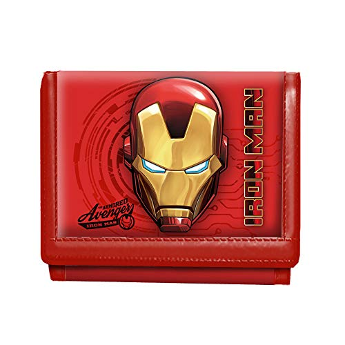 Karactermania Iron Man Armour-Geldbörse Monedero 12 Centimeters Rojo (Red)