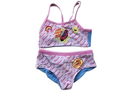 Disney Soy Luna Bikini (128 - ca. 8 Jahre, Hellblau)