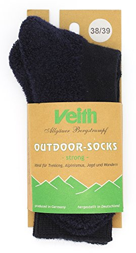 Veith Outdoor-Socks Strong - Marine (Marine, 38/39)