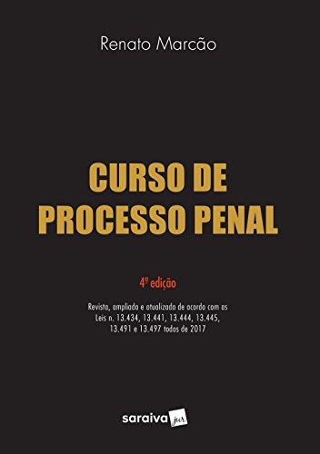 Curso de Processo Penal. 2018
