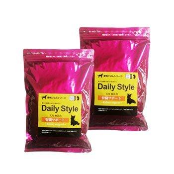【獣医師開発】無添加国産 鹿肉ドッグフード デイリースタイル(DailyStyle) 犬用療法食/腎臓サポート 300g✕2袋 (全犬種用)