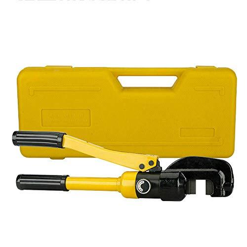 Hydraulischer Bolzenschneider, 4-16MM Hydraulischer Handschneider Hydraulik Baustahlschneider Bolzenschneider 10T Schneidwerkzeuge