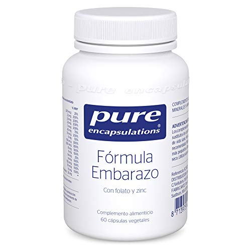 Pure Encapsulations - Fórmula Embarazo con Folato y Zinc -