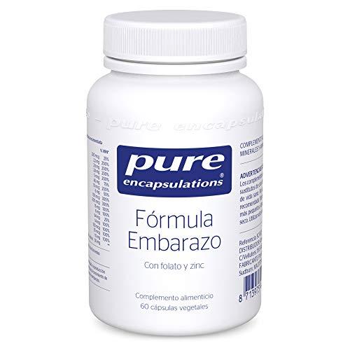 Pure Encapsulations - Fórmula Embarazo con Folato y Zinc - Vitaminas y Minerales con Ácido Fólico - Soporte Nutricional Durante el Embarazo y la Lactancia - 60 Cápsulas