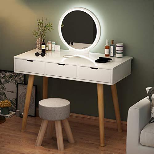 Conjunto de cosméticos, Mesa de Maquillaje de Corona con Hoja de Maquillaje,...