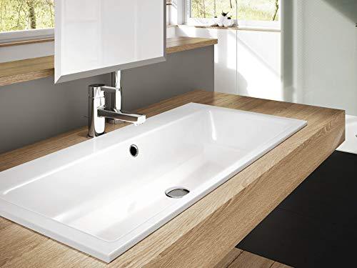 Kaldewei 3159 lavabo Fregadero encastrado bajo encimera Acero - Lavabos (Fregadero encastrado bajo encimera, Acero, Blanco, 460 mm, 385 mm)