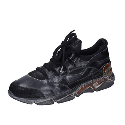 MOMA Sneakers Damen Leder schwarz 37 EU