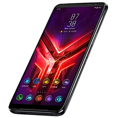 Asus ROG Phone 3 5G (ZS661KS) 12GB+128GB (Tencent Ver.) Qualcomm Snapdragon 865, リフレッシュレート144Hz, Global ROM, Google Play 対応, 日本語対応, SIMフリー, Dual SIM (Black/ブラック)