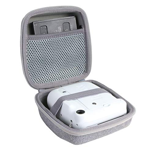 Aenllosi Hard Carrying Case Replacement for Fujifilm Instax Mini 11 Instant Camera (Gray)