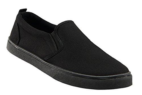 Brandit Southampton Slip on Sneaker, schwarz, EU43