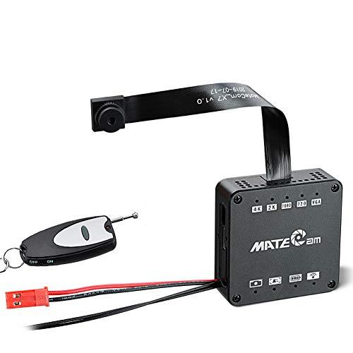Reale 4 K Ultra HD FAI DA TE Wireless Telecamera Nascosto Mini DVR Motion Detection Nanny Sistema di Sicurezza Telecomando Videocamera a 256 GB Versione Aggiornata