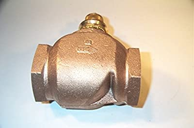 Globe Valve, 2-Way, NO, 2 In, (F)NPT by Johnson Controls