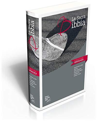 La Sacra Bibbia carateri grandi : Nuova Riveduta, rilegata illustrata