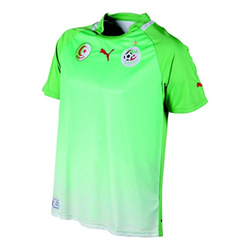 PUMA Algeria Away Shirt REP Unisex Erwachsene L grün - grün