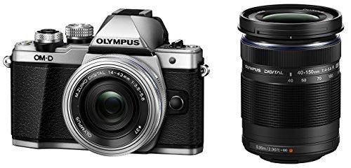 OLYMPUS ミラーレス一眼カメラ OM-D E-M10 MarkII EZダブルズームキット シルバー