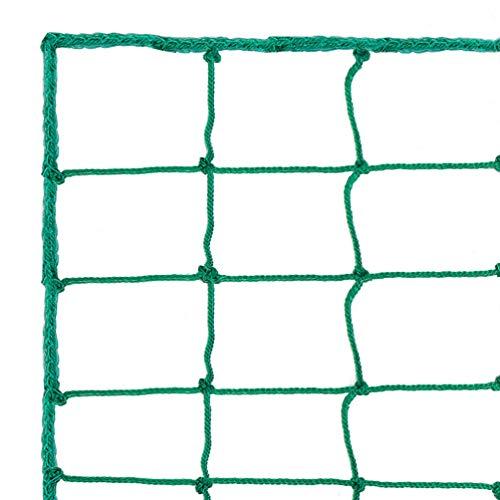 Aoneky Soccer Backstop Net, 10 Ft High, Sports Practice Barrier Net, Soccer Ball Hitting Netting, Soccer High Impact Net, Heavey Duty Soccer Containment Net (10 x 50 ft)