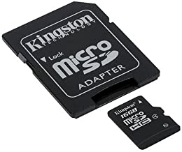 Professional Kingston 16GB MicroSDHC Card for Samsung Galaxy KZOOM-SM-C115 with custom formatting and Standard SD Adapter!...