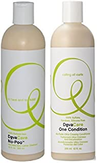Devacare Combo One Condition + No-poo Cleanser (12 Oz Duo)