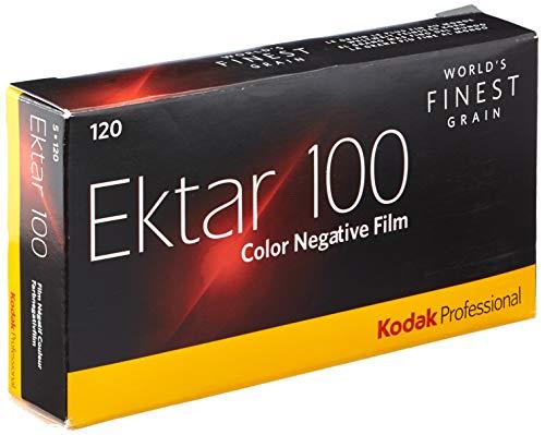 Kodak 8314098 Professional Ektar 100-120 Farbnegativ-Filme 5er Pack