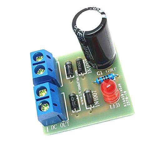 Sharplace Raddrizzatore A Ponte Ondulato Completo 1a Ac A Dc Potenza Kit DIY Convertitore