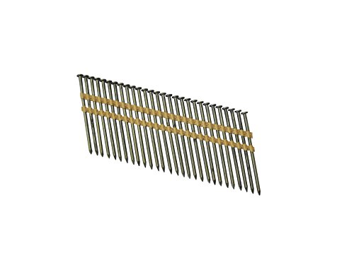 Grip Rite Prime Guard GR034HG1M 21 Degree Plastic Strip Round Head Exterior Galvanized Collated Framing Nails, 3-1/4' x 0.131'