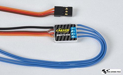 Carson 500503061 Zubehör Reflex 6/14Ch Switch 4