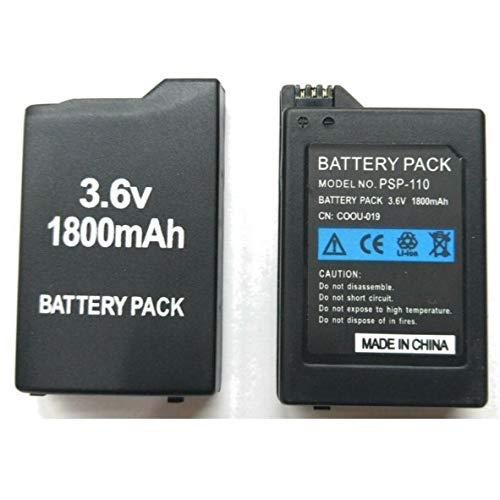 Desconocido Bateria para Sony PSP 1000 1001 10003 1004 100X Fat Gorda 1800 mAh 3.6v Modelo PSP-110