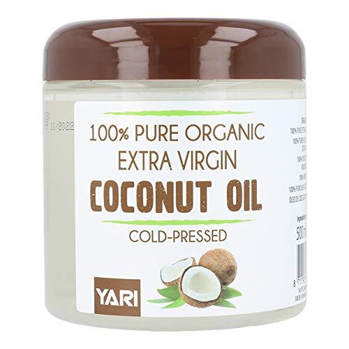 Yari Pure Organic Coco Aceite 500 ml (Extra Virgen), Estándar, Único