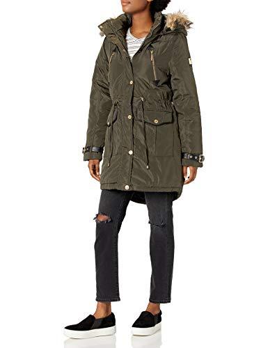 Rocawear Women's Outerwear Jacket, Anorak Olive, L