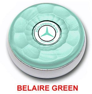Best Prices! Zieglerworld Table Large Shuffleboard Puck Weights – 4 Pucks – Belaire Green Colors + Booklet