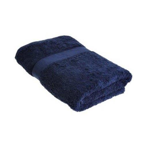 Unbekannt Textiles Direct Serviettes et Accessoires de Bain 100 % Coton égyptien 500 g/m² 70 x 130 cm Bleu Marine