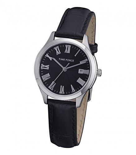 TIME FORCE Reloj Analógico para Mujer de Cuarzo con Correa en Cuero TF3305L01