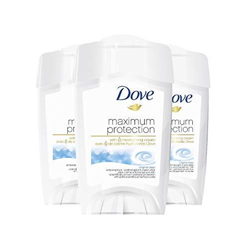 Dove - Deodorante in crema Maximum Protection, 3 pz. (3 x 45 ml)