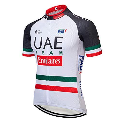 Vetement Homme Cyclisme Professionnel Fermeture Éclair T-Shirts Manches Courtes Vetements VTT Homme Ete