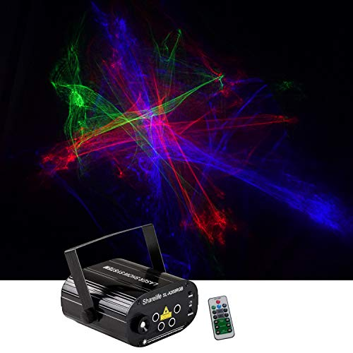 Sharelife Mini 4 Lens RGRB Hypnotic Aurora Laser Effect Mixed