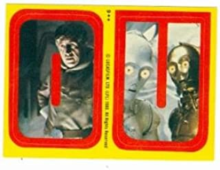 star wars the empire strikes back trading cards