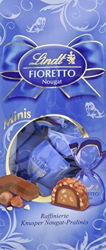 Lindt & Sprüngli  Fioretto Minis Beutel Nougat, 4er Pack (4 x 115 g)