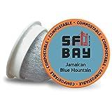 SF Bay Coffee Kona Blend 80 Ct Medium Roast Compostable Coffee Pods, K Cup Compatible including Keurig