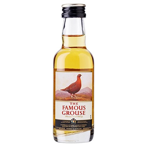 Die Famous Grouse Blended Scotch Whisky 5 cl (Packung mit 12 x 5 cl)