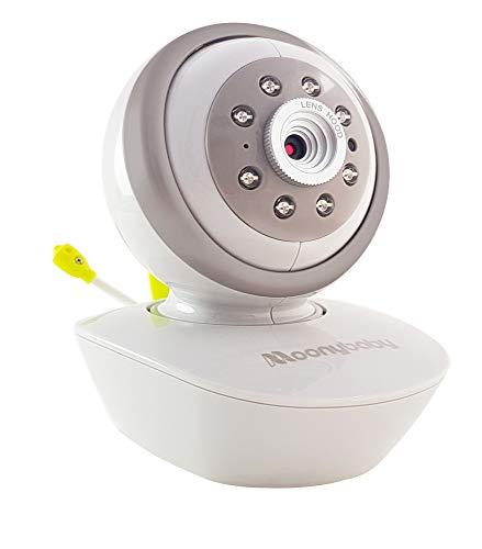 moonybaby Cámara de repuesto MoonyBaby Serie D Unidad de cámara adicional para cámara de giro e inclinación Video Monitor de bebé (cámara única) NO para 2 CÁMARAS