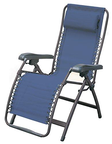 Ferrino Comfort, Sdraio Blu, 75x18x92 cm