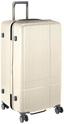 [イノベーター] スーツケース 大型 スリム 多機能モデル INV90 保証付 92L 79 cm 4.8kg バニラ