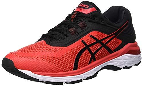 Asics Gt-2000 6, Zapatillas de Entrenamiento Hombre, Rojo (Red Alert/Black 600), 49 EU