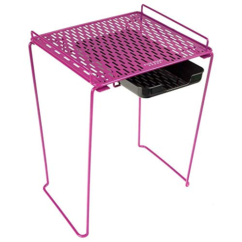 """Five Star Locker Accessories, Locker Shelf and Drawer, Extra Tall 14"""", Holds up to 100 Lbs. Fits 12"""" Width Lockers, Pink (73359)"""