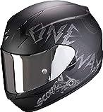 Scorpion Herren NC Motorrad Helm, Schwarz/Grau, L