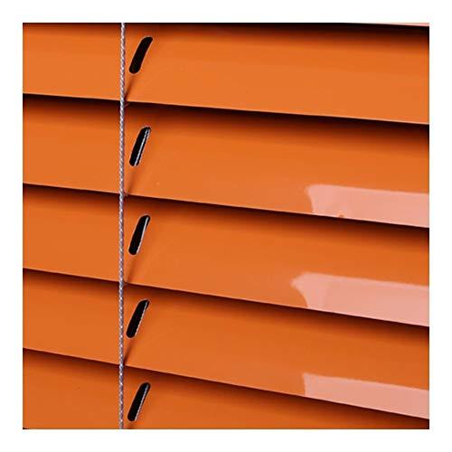 WXQIANG Persianas de aluminio veneciana, la luz y la protección antideslumbrante, paredes o techos de montaje, kit de montaje incluidos, 40 Tamaños (ancho x alto) Protección contra deslumbramiento y l