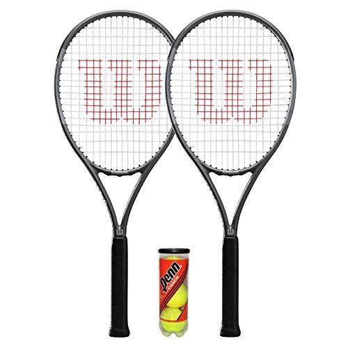 Wilson Pro Staff Precision Team 100 - Raqueta de tenis (2 y 3 pelotas de tenis