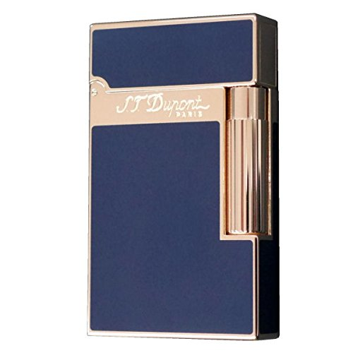 デュポン ラインツー ライター ピンクゴールド 純正うるし ブルー 16496 S.T.Dupont LINE2 日本正規代理店品