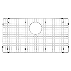 "GRID DIMENSIONS: 27.56"" L X 14.56"" W CUSTOM DESIGNED: Fits BLANCO PRECIS models 440149, 441299, 440151, 440147, 441478, 441297, 440150 SINK PROTECTOR: Keep your beautiful sink looking flawless - the kitchen sink grate holds dishes and utensils off th..."