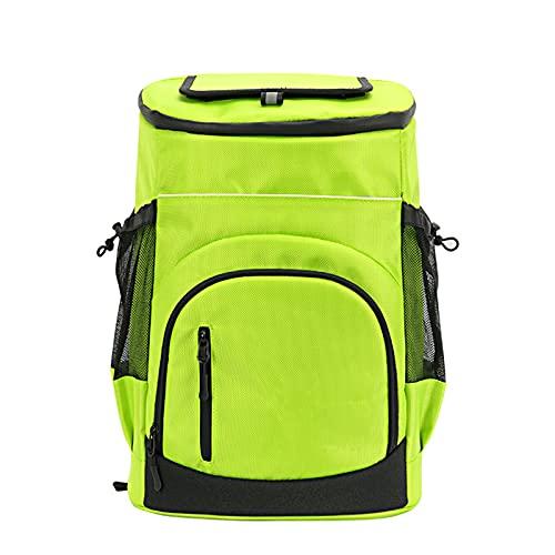 NDHENG Picnic Backpack Bag, Mochila isotérmica con Refrigerador Bolsa de Picnic, para Playa, Viajes de un día, Senderismo, Camping, barbacoas,Verde